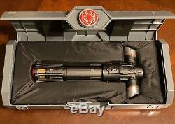 Star Wars Galaxy's Edge Kylo Ren Legacy Lightsaber Hilt Disney NO BLADE
