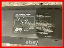 Star Wars Galaxy's Edge Legacy Lightsaber JEDI TEMPLE GUARD Brand New Sealed