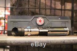Star Wars Galaxy's Edge Light Saber Dok-Ondar's DARTH VADER + 36 Blade + Map