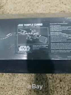 Star Wars Galaxys Edge Legacy Lightsaber JEDI TEMPLE GUARD