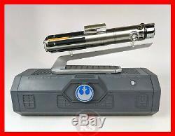 Star Wars Galaxys Edge REY LUKE ANAKIN Legacy Lightsaber Hilt NEW & SEALED