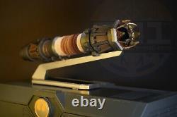 Star Wars Galaxys Edge Rey Skywalker Yellow Legacy Lightsaber Hilt No Blade
