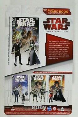 Star Wars Hasbro Legacy Collection LC 2009 Comic Packs #12 T'Ra Saa & Tholme