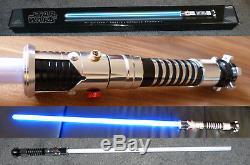 Star Wars Hasbro Signature Obi Wan Kenobi EP 1 Force FX Lichtschwert lightsaber