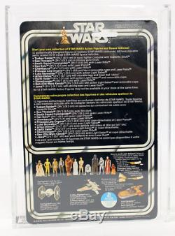 Star Wars Kenner Canada 12 Back Luke Afa 85 Nm+ (85/85/85)! Pop 1 Moc