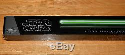Star Wars Kit Fisto FX Lightsaber New Sealed Hasbro Signature Removable Blade