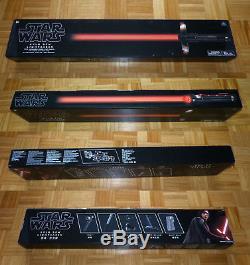 Star Wars Kylo Ren Force FX Lichtschwert lightsaber exklusiv abnehmbare Klinge