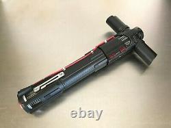 Star Wars Kylo Ren Graflex Skywalker beauty reveal lightsaber hilt prop