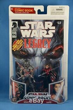 Star Wars Legacy Comic Packs Darth Krayt & Sigel Dare # 8 Hasbro 2009