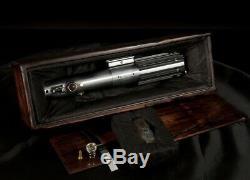 Star Wars Lightsaber & Box ESB TFA Luke Skywalker Graflex Prop Replica Effects