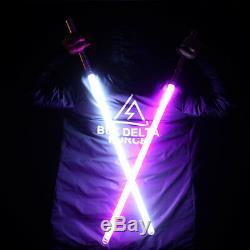 Star Wars Lightsaber with Metal Handle Led Luminous Light Sword Laser Saber Fx