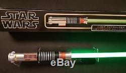 Star Wars Luke Skywalker ROTJ Force FX Master Replicas Lightsaber SW-203S 2003