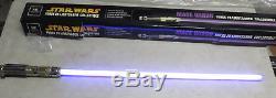 Star Wars MACE WINDU ROTS Force FX Master Replicas Lightsaber RARE
