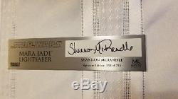 Star Wars Master Replicas Mara Jade Lightsaber Signature SW-174SE #259/750