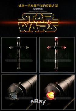 Star Wars Metal Lightsaber Combat Dueling Light saber Kylo Ren Cross Durable RED
