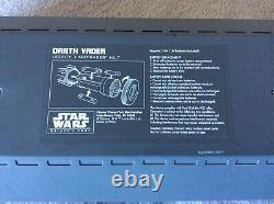 Star Wars Official Galaxys Edge Darth Vader Legacy Lightsaber Disney Very Rare