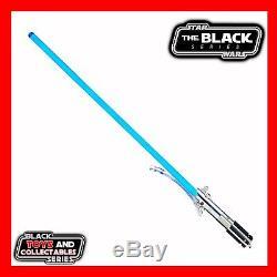 Star Wars Rey Blue Lightsaber Black Series Force FX Deluxe / Master Replicas