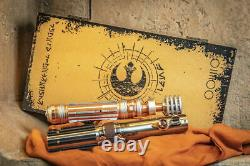 Star Wars Skywalker Legacy Lightsaber Boxed Set Leia Luke Reforged Hilt