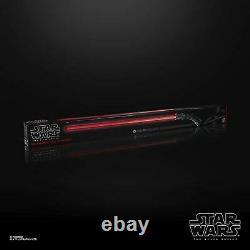 Star Wars The Black Series Asajj Ventress Force FX Lightsaber