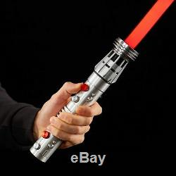 Star Wars The Black Series Darth Maul Force FX Lightsaber WITH Dual Adapter