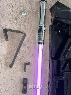 Star Wars The Black Series Darth Revan force FX Elite Lightsaber Damaged Box