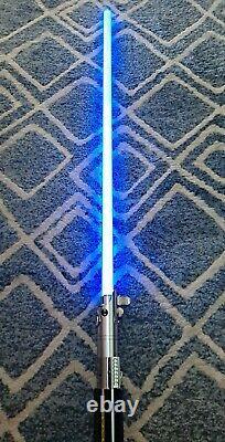 Star Wars The Black Series Force FX Blue Luke Skywalker Lightsaber discontinued