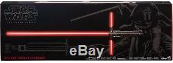 Star Wars The Black Series Kylo Ren Force FX Deluxe Lightsaber Box Damage