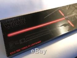 Star Wars The Black Series Kylo Ren Force FX Deluxe Lightsaber with Light & Sound