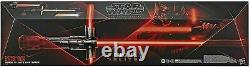 Star Wars The Black Series Kylo Ren Force FX Elite Lightsaber Open Box Brand New