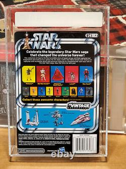 Star Wars The Clone Wars Vintage Collection AHSOKA AFA 9.0 Uncirculated RARE