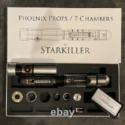 Star Wars The Force Unleashed Phoenix Props 7 Chambers Starkiller Lightsaber