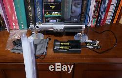 Star Wars - Ultrasabers - Graflex Se Lightsaber - Skywalker - Complete Set