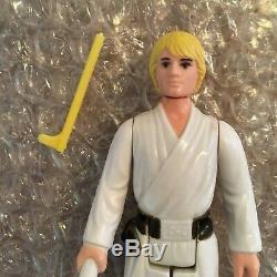 Star Wars Vintage Kenner 1977 Luke Skywalker Farmboy JJ Letter Hilt Light Saber