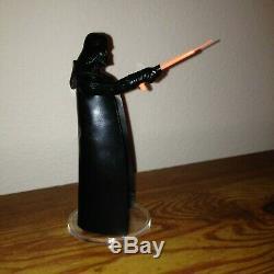 Star Wars Vintage Kenner Darth Vader Action Figure Light Saber Lettered AA