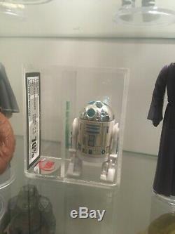 Star Wars Vintage LasT 17 R2-D2 Pop Up Light Saber Graded UKG 70% 80%