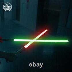 Star Wars YDD Lightsaber Replica Force FX RGB Heavy Dueling Metal Handle(2 SET)