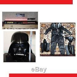USED STAR WARS Darth Vader Master replica Costume set (in Light Saber) japan
