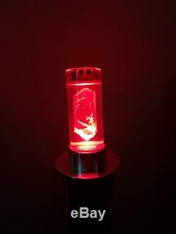 Ultrasabers Lightsaber Archron V2 PREMIUM SOUND Blazing Red Black A/V switch