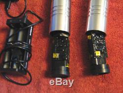 Ultrasabers Standard Issue V3 Lightsaber Staff in Guardian Blue Obsidian Sound