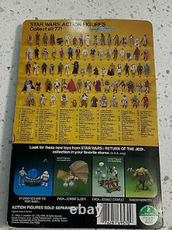 Vintage 83 Kenner Star Wars Return of the Jedi 77Bk Boba Fett Sealed MIP