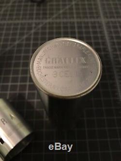 Vintage Graflex 3 Cell Flash Star Wars Lightsaber
