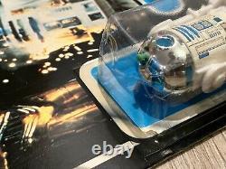 Vintage R2-D2 Pop Up Lightsaber POTF TRI LOGO MOC Carded Star Wars Palitoy