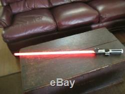 Vintage Replicas STAR WARS Darth Vader Red 44 LIGHT SABER Light Saber GUC