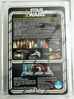 Vintage Star Wars 12 Back- A Darth Vader Afa 85 Nm+ (85/80/85)! Beautiful Moc