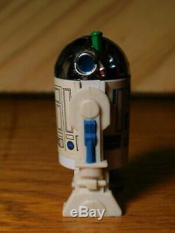 Vintage Star Wars 1984 R2D2 Pop Up Light Saber COMPLETE ORIGINAL Last 17 R2-D2