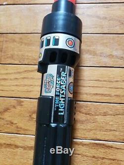 Vintage Star Wars The Force Light Saber Empire Strikes Back Kenner 1980 RED