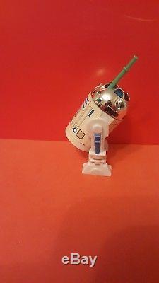Vintage star wars r2-d2 pop up lightsaber last 17 original great condition
