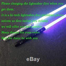 YDD Jedi Sith LED Light Saber, Force FX Heavy Dueling, Rechargeable Lightsaber