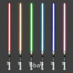 YDD Luke Skywalker Style Battle Ready Metal Lightsaber 16 Colors RGB & Sound FX