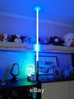 11 Rgb Professional Duelling Métal Hilt Lightsaber Jedi Sith Vibreur Sfx Kylo Ren